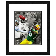 Green Bay Packers Donald Driver Framed 14' x 11' Player Photo