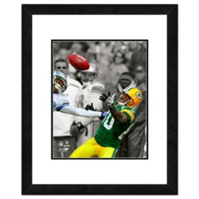"""Green Bay Packers Donald Driver Framed 14"""" x 11"""" Player Photo"""