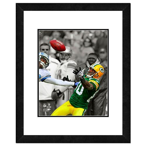 "Green Bay Packers Donald Driver Framed 14"" x 11"" Player Photo"