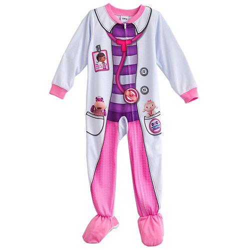 234b8a747114 Disney Doc McStuffins Footed Pajamas - Baby