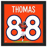 Denver Broncos Demaryius Thomas Framed Jersey Photo