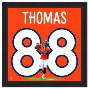Denver Broncos Demaryius Thomas Framed Jersey Photo