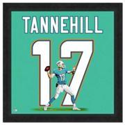 Miami Dolphins Ryan Tannehill Framed Jersey Photo