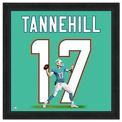Miami Dolphins Ryan Tannehill Framed Jersey Photo