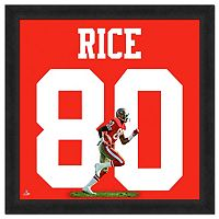 San Francisco 49ers Jerry Rice Framed Jersey Photo