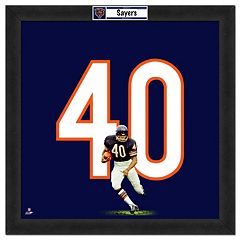 Chicago Bears Gale Sayers Framed Jersey Photo