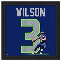 Seattle Seahawks Russell Wilson Framed Jersey Photo