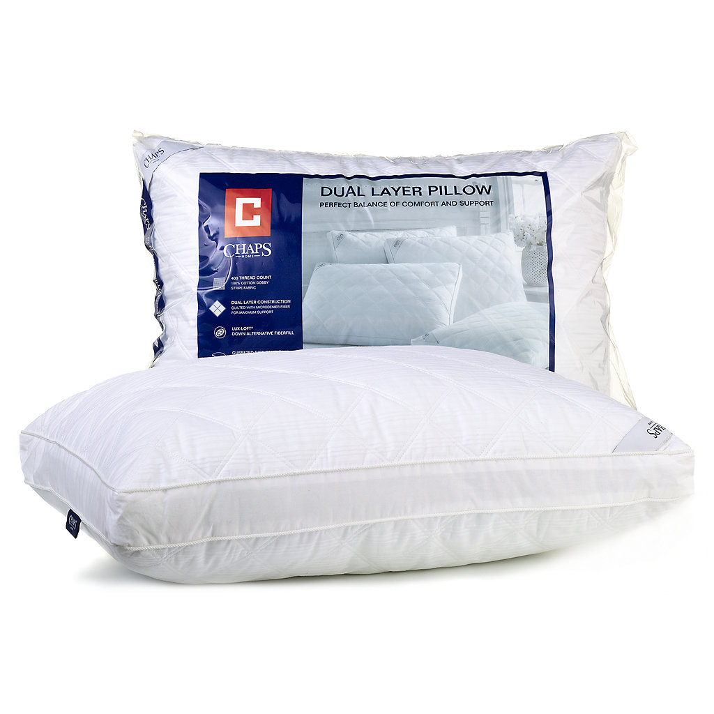 Chaps Home Dual-Layer Pillow