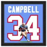 Houston Oilers Earl Campbell Framed Jersey Photo