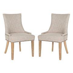Safavieh Lester 2 pc Dining Chair Set