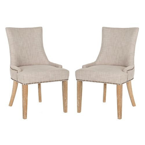 Safavieh Lester 2-pc. Dining Chair Set