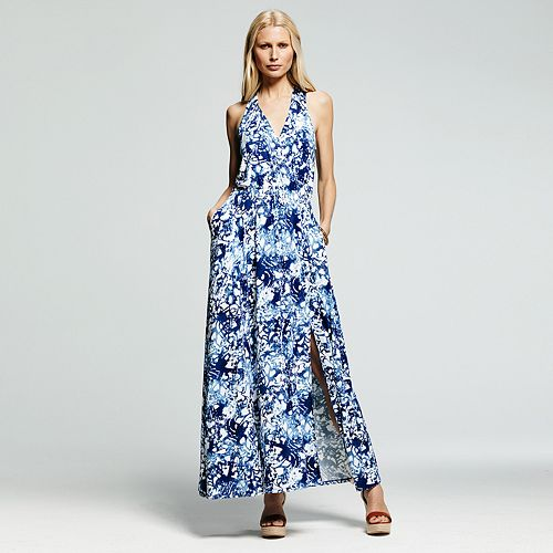 Peter Som for DesigNation Splatter Maxi Dress - Women's