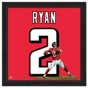Atlanta Falcons Matt Ryan Framed Jersey Photo