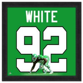Philadelphia Eagles Reggie White Framed Jersey Photo