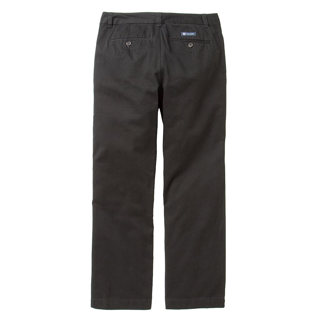 Chaps Chino Pants - Boys 8-20 Husky