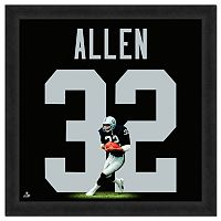 Los Angeles Raiders Marcus Allen Framed Jersey Photo
