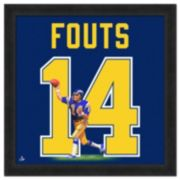 San Diego Chargers Dan Fouts Framed Jersey Photo