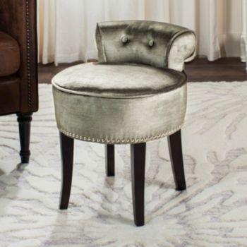 Safavieh Georgia Nailhead Vanity Stool