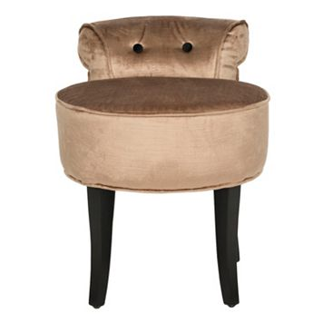 Safavieh Georgia Brown Vanity Stool