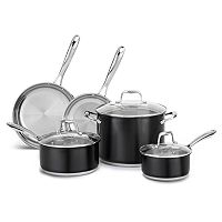 KitchenAid KCSS08 8-pc. Stainless Steel Cookware Set