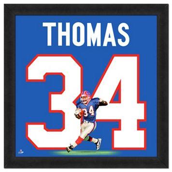 Buffalo Bills Thurman Thomas Framed Jersey Photo