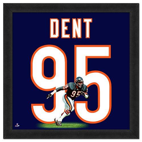 Chicago Bears Richard Dent Framed Jersey Photo