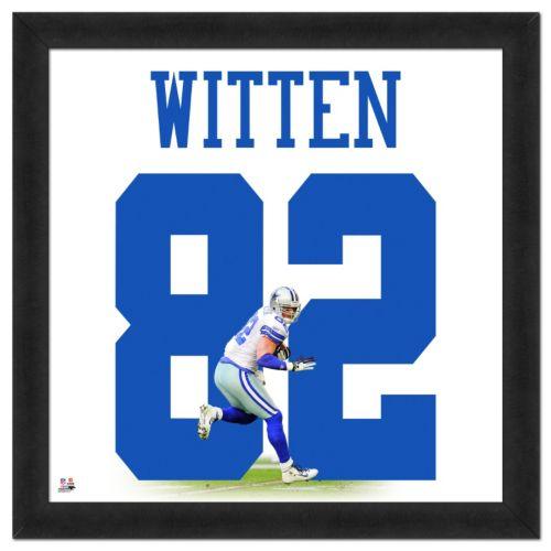 Dallas Cowboys Jason Witten Framed Jersey Photo
