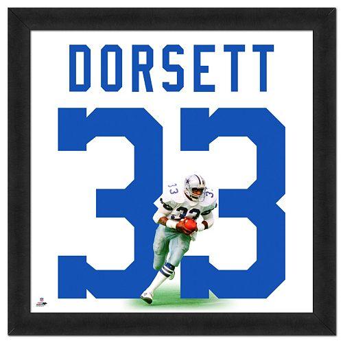 Dallas Cowboys Tony Dorsett Framed Jersey Photo