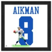 Dallas Cowboys Troy Aikman Framed Jersey Photo