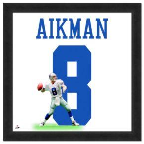 Dallas Cowboys Troy Aikman Framed Jersey Photo