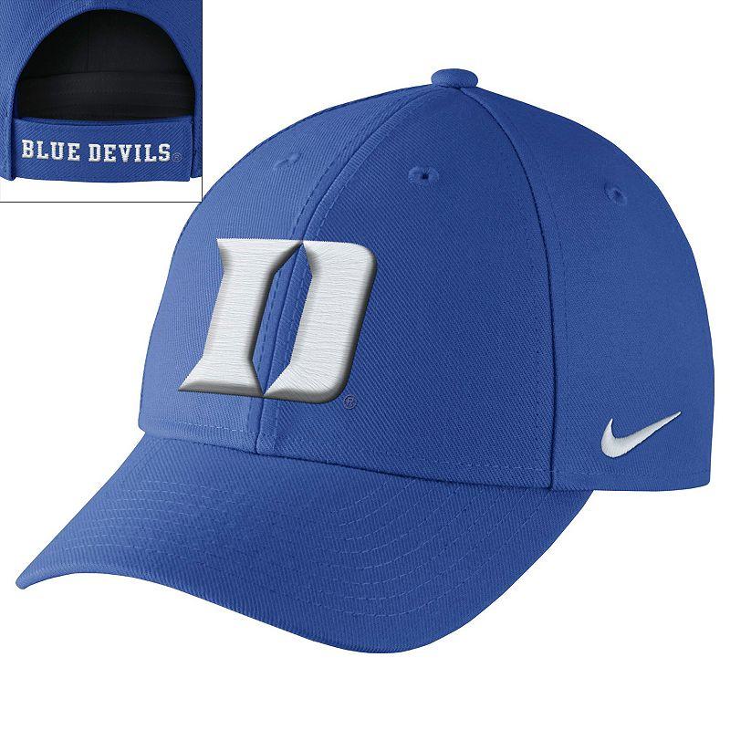 Nike Duke Blue Devils Dri-FIT Wool Classic Adjustable Cap - Men