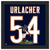 Chicago Bears Brian Urlacher Framed Jersey Photo