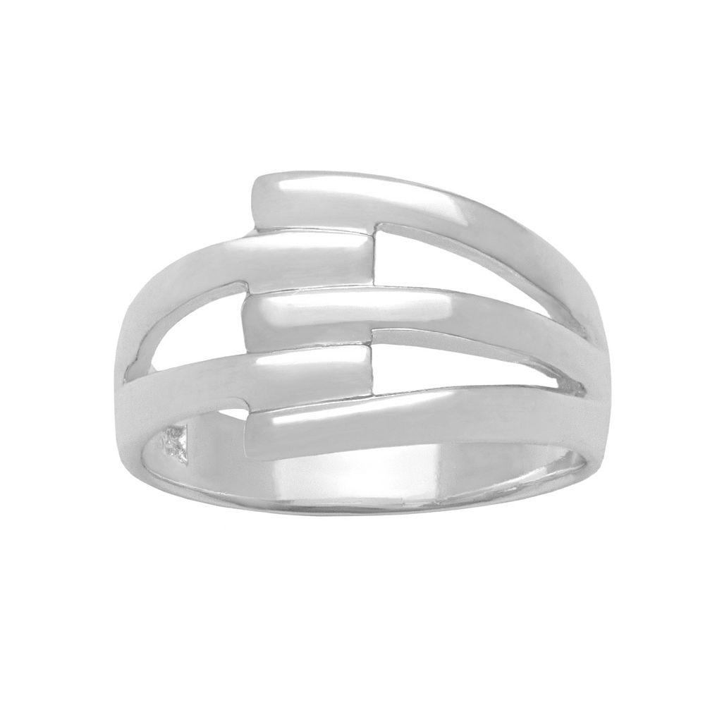 Sterling Silver Prong Ring