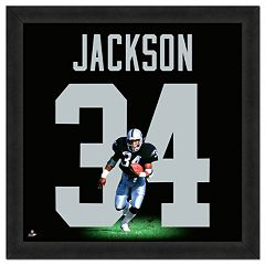 Los Angeles Raiders Bo Jackson Framed Jersey Photo