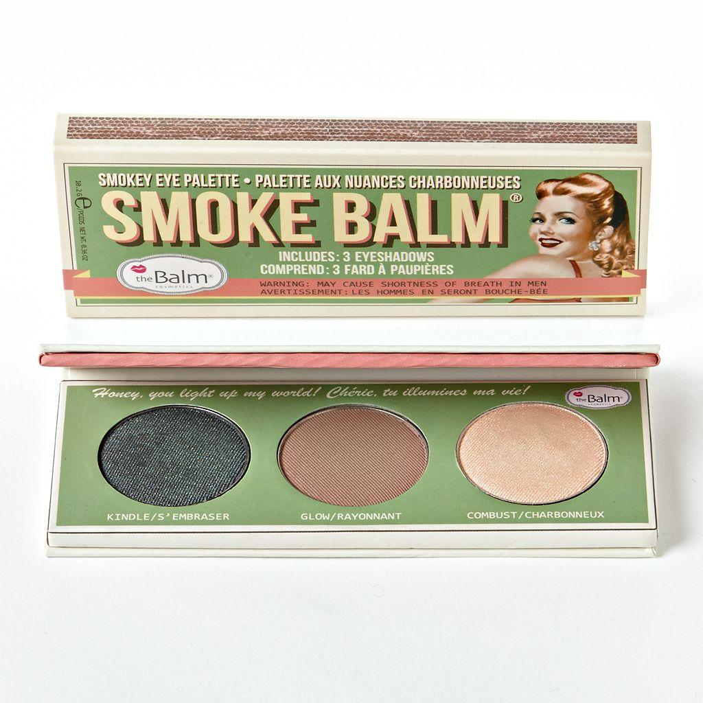 theBalm Smoke Balm Eyeshadow Palette