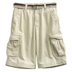 Boys 8-20 & Husky Urban Pipeline™ Twill Cargo Shorts