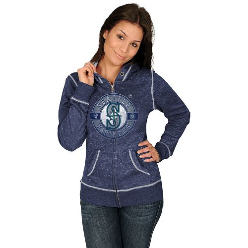 Majestic Seattle Mariners Season Contender Fleece Hoodie - Women's