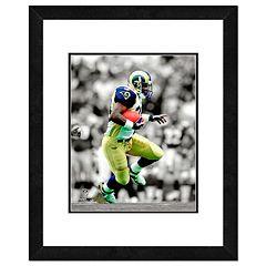 Los Angeles Rams Marshall Faulk Framed 14' x 11' Player Photo