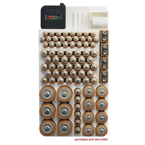 Range Kleen Battery Organizer & Storage Unit