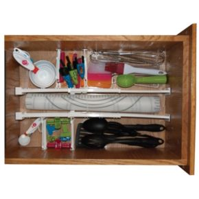 Range Kleen 6-pc. Adjustable Drawer Organizer