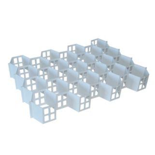 Range Kleen 32-Compartment Honeycomb Drawer Organizer