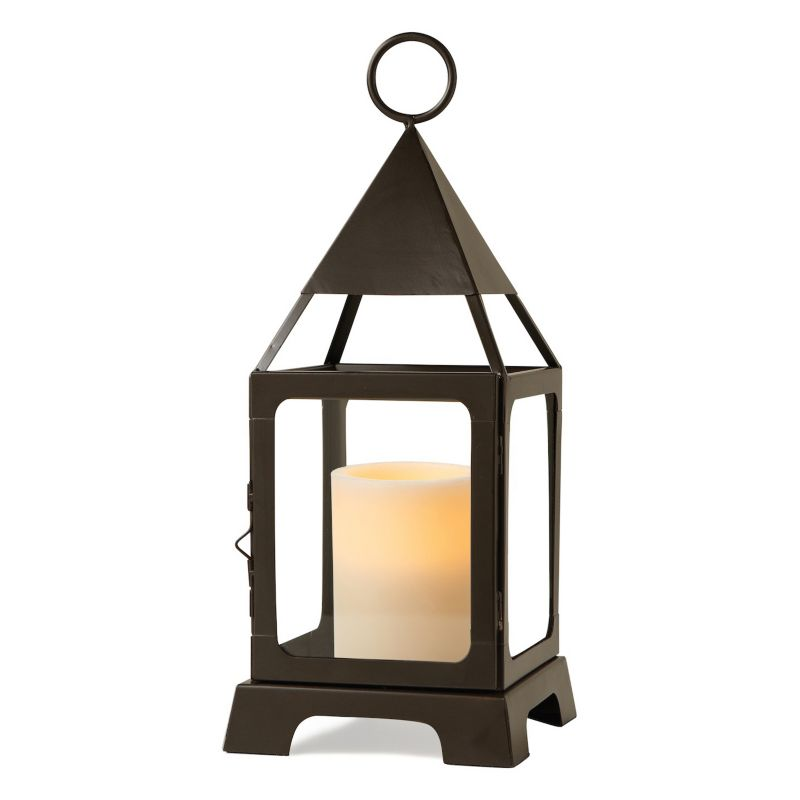 Outdoor lantern flameless led candle