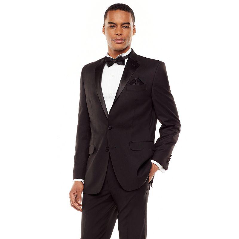Men's Chaps Classic-Fit Black Tuxedo Jacket