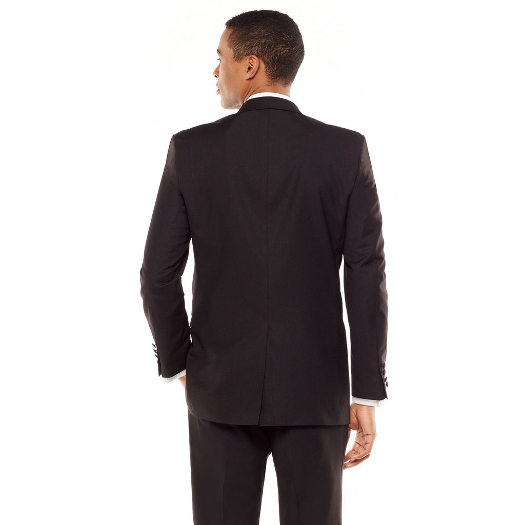 Men's Chaps Classic-Fit Black Tuxedo Jacket