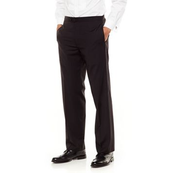 Men's Chaps Classic-Fit Black Tuxedo Pants