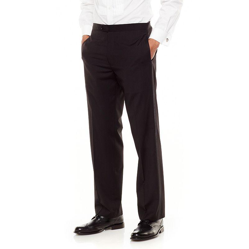 Men's Chaps Classic-Fit Black Tuxedo Pants