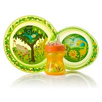 Evenflo Zoo Friends Toddler Feeding Set