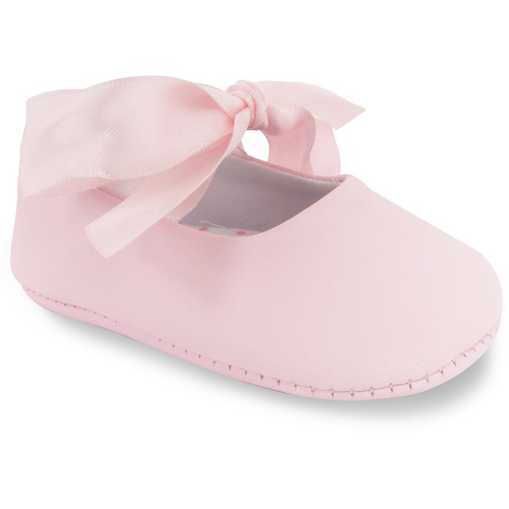 Wee Kids Ballet Slipper Crib Shoes - Baby
