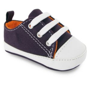 Wee Kids Canvas Sneaker Crib Shoes - Baby