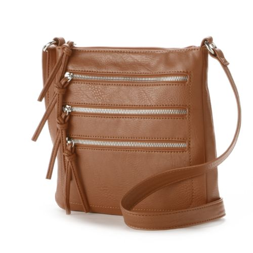 Zipper Crossbody Bag 118